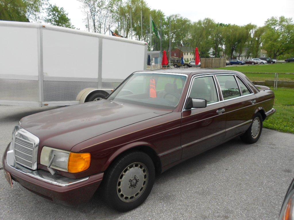 1990 mercedes benz 420 sel 2500 winebrenner 39 s american for 1990 mercedes benz 420sel